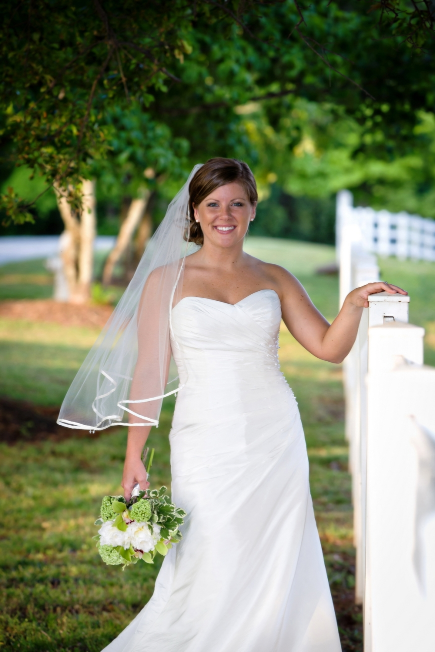 Dairy Barn Bridal Portrait