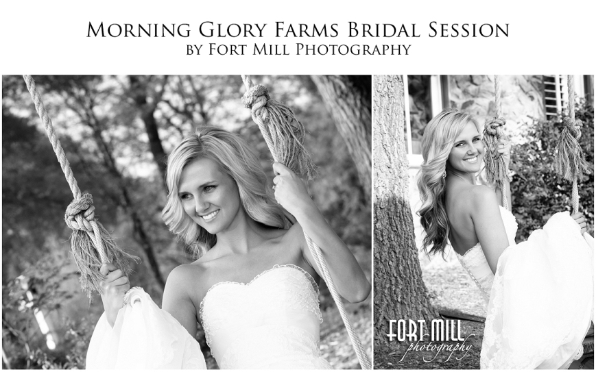 Morning Glory Farms Bridal Session © 2013 Fort Mill Photography
