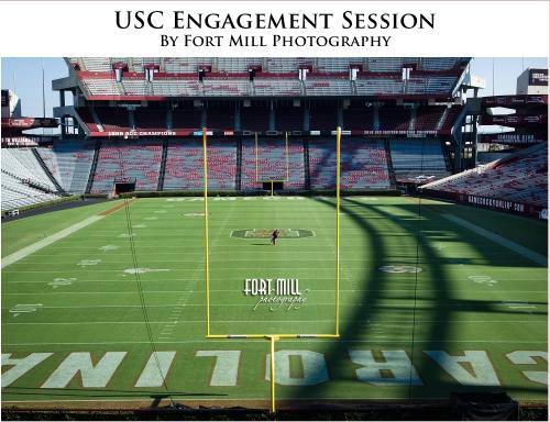 Williams-Brice Stadium Engagement Session
