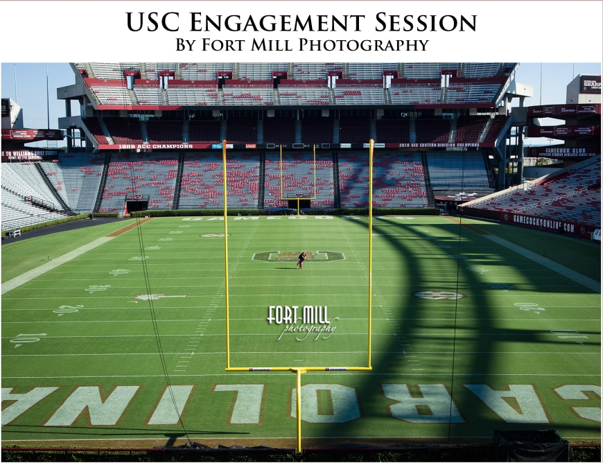 Williams-Brice Stadium Engagement Session