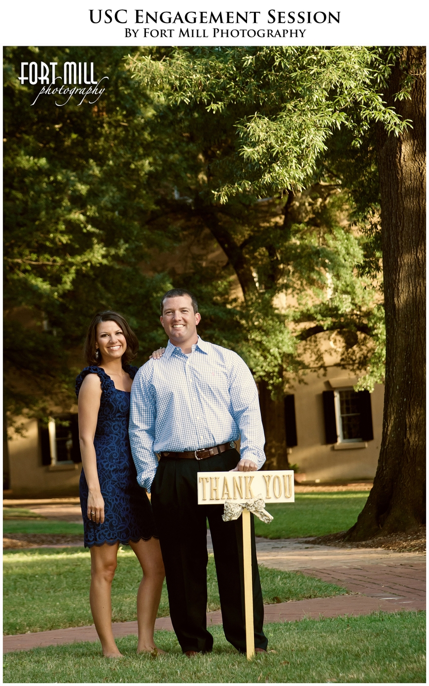 USC Engagement Session Thank You