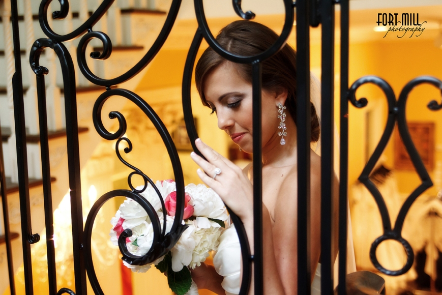 Bridal with Wrought Iron