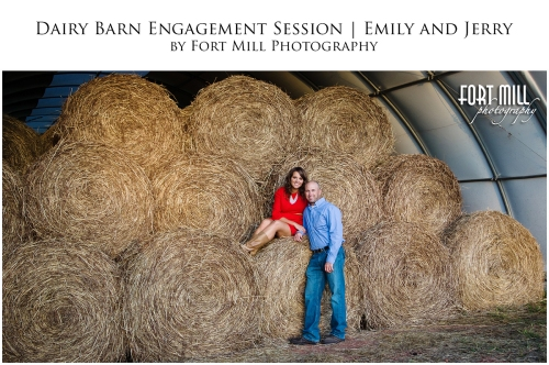 Hay Bale Engagement