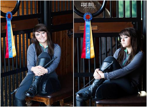 Senior Portrait Session at Sims Hill Farm