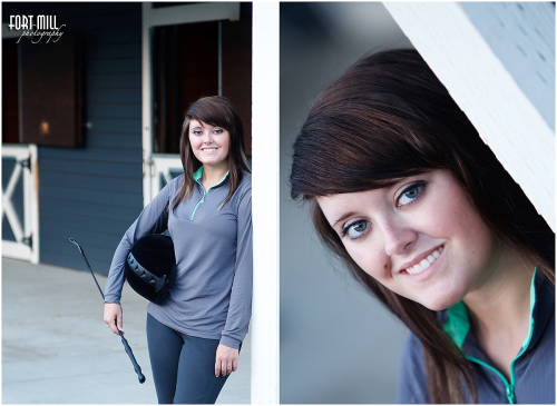 Senior Portrait Session at the stable