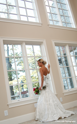 Windowlit Bride