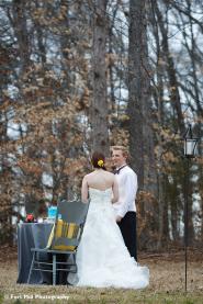 Winter Greenway Wedding