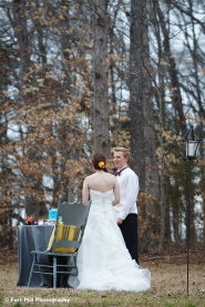 Winter Greenway Wedding