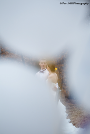 Abstract Wedding Photo