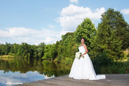 Bridal at Lake Katherine