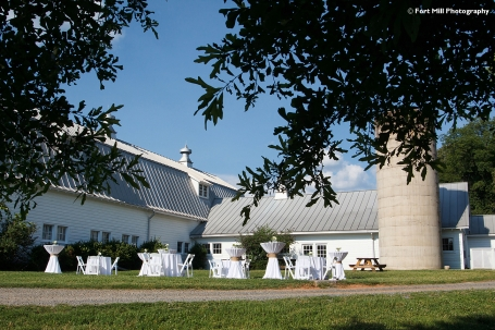 The Dairy Barn decorated by Creative Solutions