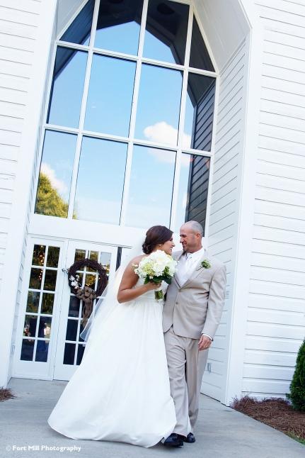 Wedding Couple Exit