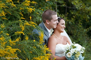 Couple in goldenrod