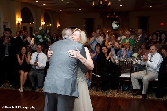 Groom with Mom dance
