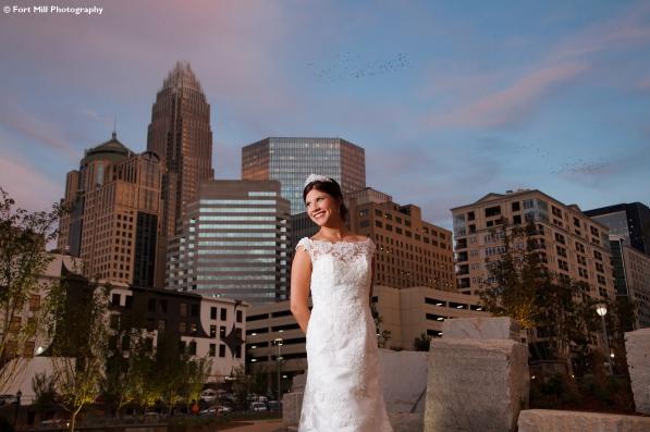 Charlotte Skyline Bridal