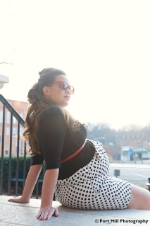 1950's Inspired Maternity Session