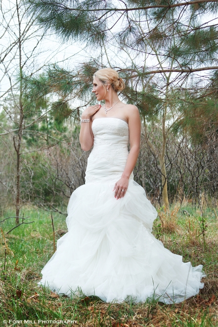 Full Length Winter Bridal