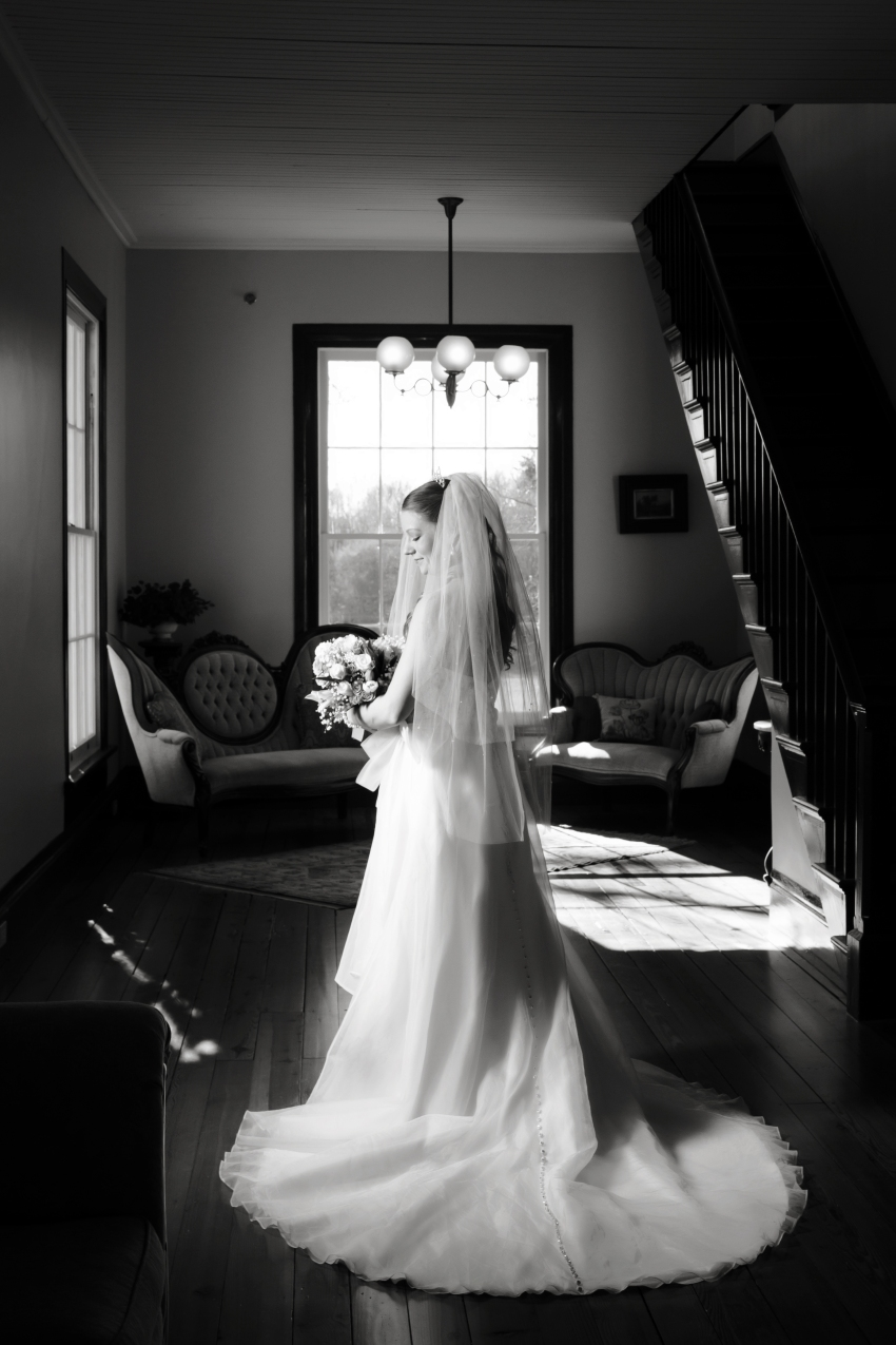 Hightower Hall Bridal Portrait