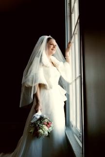Window Lit Bridal