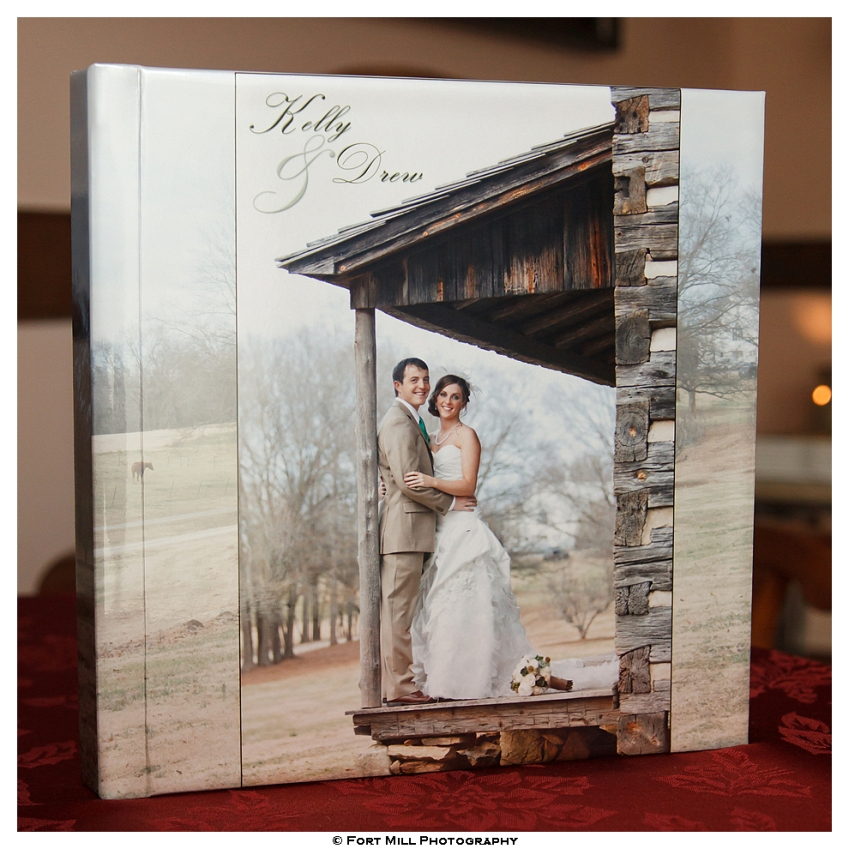 Storybook Album with Photographic Pages