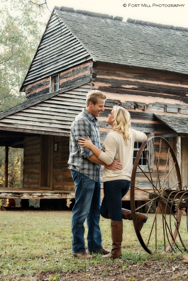 Couple at The Graham Cabin