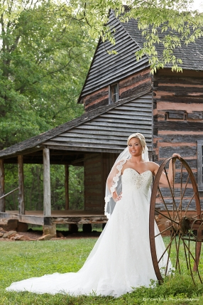 Bridal Portrait at The Graham Cabin