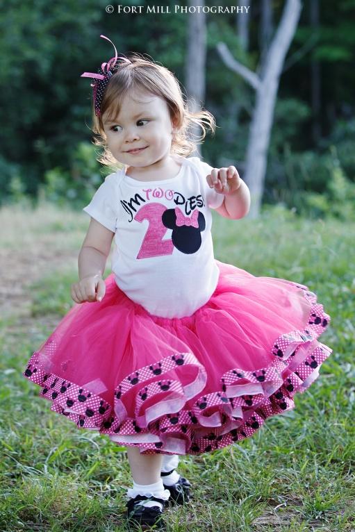 Toddler in Pink Tutu