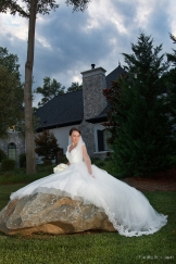 Brakefield at Riverwalk Bridal Session © Fort Mill Photography