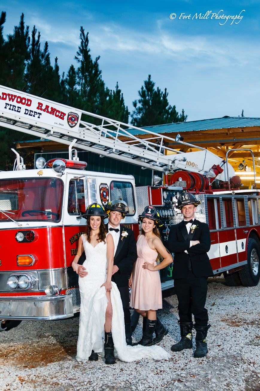 Firefighter Wedding